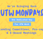 UTW Mondays